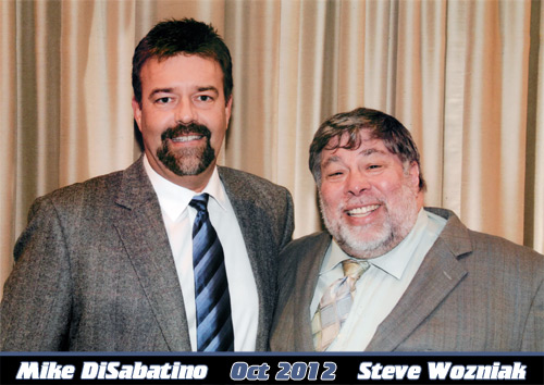 DiSabatino and Steve the Woz Wozniak